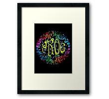 PROG RAINBOW KEYS Framed Print