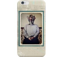 Still Life with The Faceless Man iPhone Case/Skin