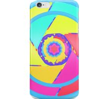 Colorfull Wheel enchanted by a pony iPhone Case/Skin