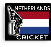 Netherlands Cricket Canvas Print