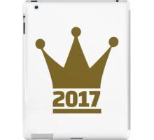 2017 crown iPad Case/Skin