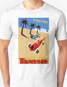 """TUNISIE GRAND PRIX"" Automobile Race Print Unisex T-Shirt"