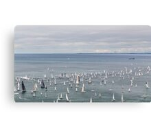 Barcolana regatta of Trieste Canvas Print