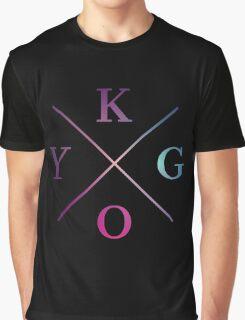 Kygo - Blue Violet Color Graphic T-Shirt