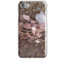 Australia native gum leaves iPhone Case/Skin
