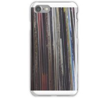 Record Stack iPhone Case/Skin