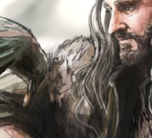 Thorin and the Raven Sticker