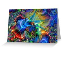 Celestial Dimensions Greeting Card