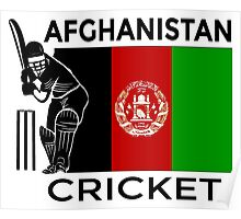Afghanistan Cricket Poster