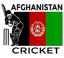 Afghanistan Cricket Photographic Print