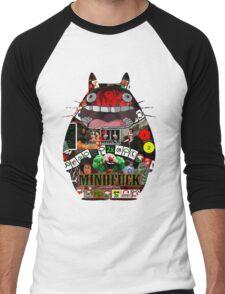 Totoro Mindfuck Men's Baseball ¾ T-Shirt