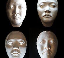 Porcelain Mask, Nicole Shadows by Marie Jean Hamilton