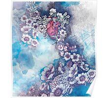 singing heart (print) Poster