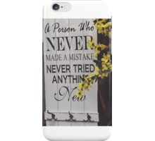 Quote iPhone Case/Skin