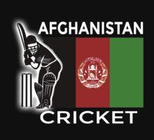Afghanistan Cricket One Piece - Short Sleeve