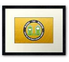 Vote Kang - Kodos '96 Framed Print