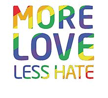 Move Love Less Hate, Strong Orlando T-Shirt Photographic Print