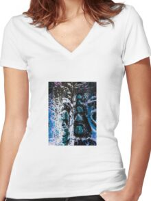 Invert Women's Fitted V-Neck T-Shirt