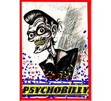 psychobilly Photographic Print