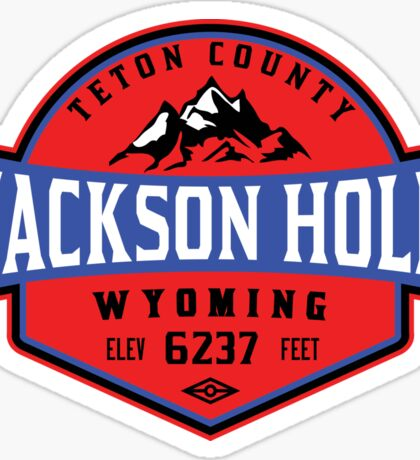 JACKSON HOLE WYOMING Mountain Skiing Ski Snowboard Snowboarding 3 Sticker