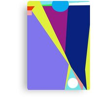 Colorful design by Moma Canvas Print