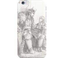 Thorin and Bilbo iPhone Case/Skin