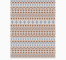 Aztec Essence Pattern II Rust Blue Cream Unisex T-Shirt