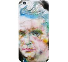 MARIE CURIE - watercolor portrait iPhone Case/Skin