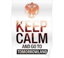 Keep Calm and go to Tomorrowland - Crowd Poster