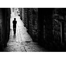 Jerusalem streets walker Photographic Print