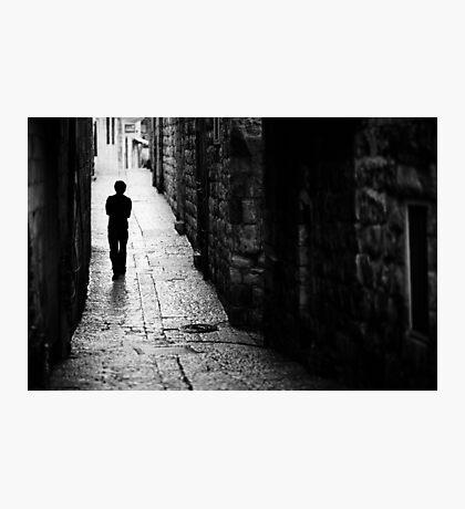 Jerusalem streets walker Photographic Print