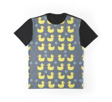 Gray Ducky Graphic T-Shirt