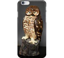 Owl Sculpture iPhone Case/Skin