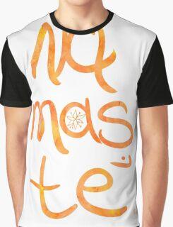 Namaste poster orange mango Graphic T-Shirt