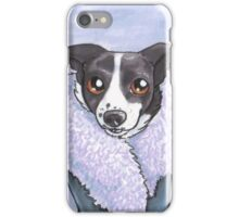 Fancy, Fancy Border Collie iPhone Case/Skin
