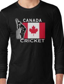 Canada Cricket Long Sleeve T-Shirt