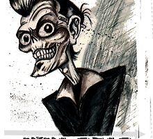Psychobilly viva dead vegas by dgstudio