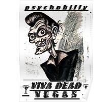 Psychobilly viva dead vegas Poster