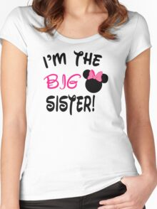 I'm The Big Sister Women's Fitted Scoop T-Shirt