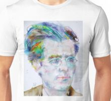 GUSTAV MAHLER - watercolor portrait.3 Unisex T-Shirt