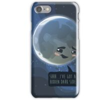 Dark side of the moon iPhone Case/Skin