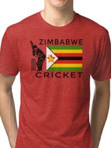 Zimbabwe Cricket Tri-blend T-Shirt