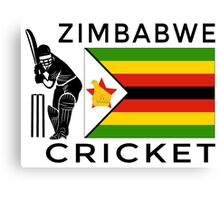 Zimbabwe Cricket Canvas Print