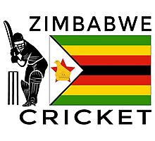 Zimbabwe Cricket Photographic Print