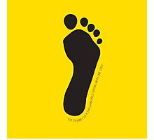 Footprint Photographic Print