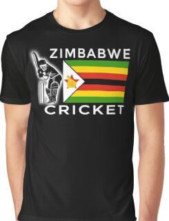 Zimbabwe Cricket Graphic T-Shirt