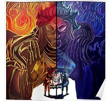 Naruto and Sasuke (sage of six paths) Poster