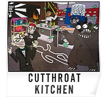 Cutthroat Kitchen Doodle Poster