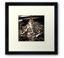 Silver Ganesh, Chiang Mai, Thailand. Framed Print
