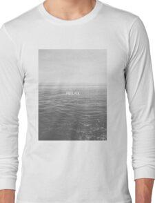 Relax - Ocean Long Sleeve T-Shirt